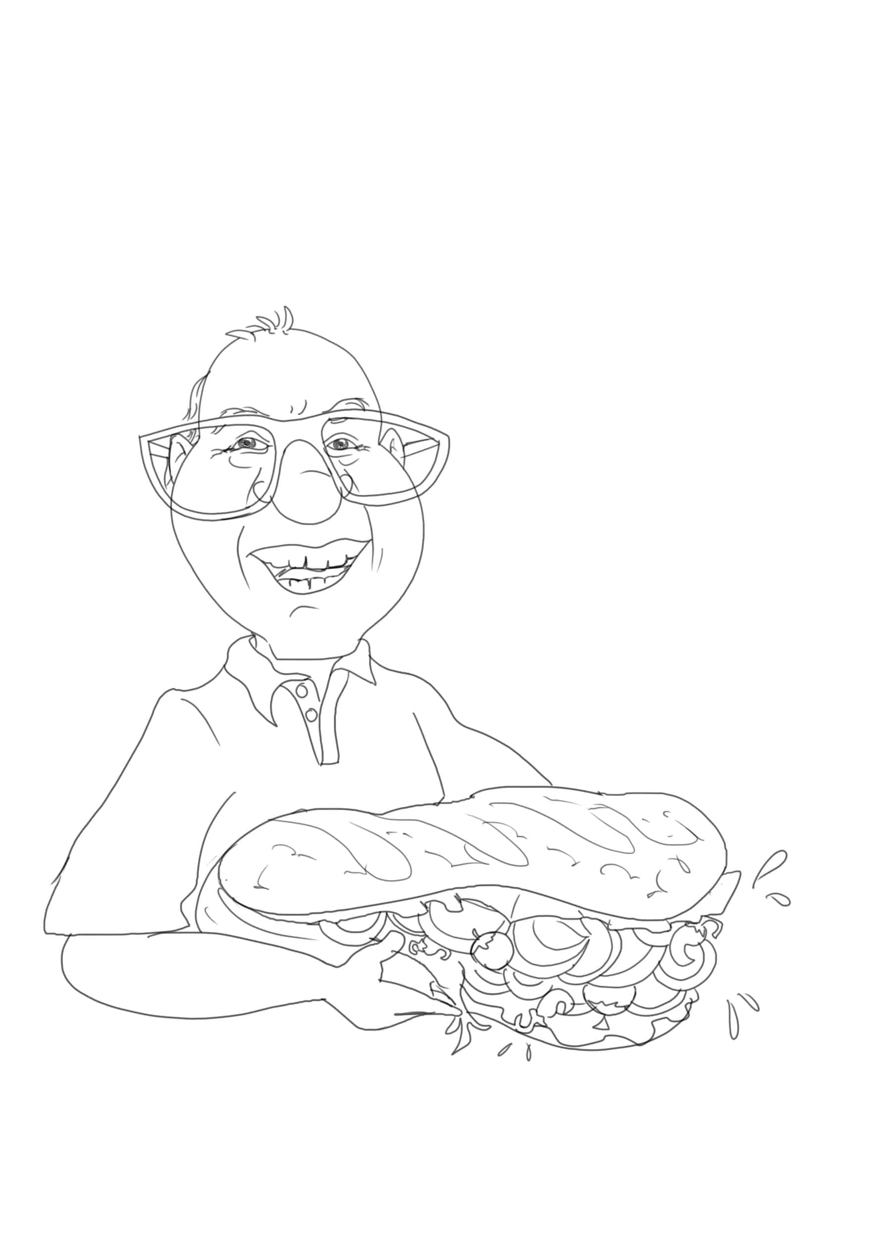 ציור קריקטורה